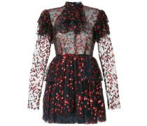 Kleid mit Herz-Stickerei