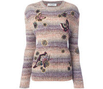 butterfly embroidery jumper