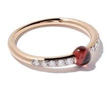 18kt 'M'ama' Rotgoldring