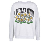 Smiley Flower Power sweatshirt