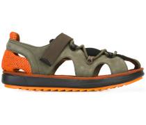 - Sandalen mit Ösen - men - Leder/Nylon/rubber