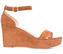 - Wedge-Sandalen mit Knöchelriemen - women
