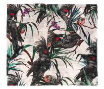 Schal mit Kakadu-Print - women