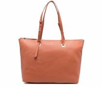Lea leather tote bag
