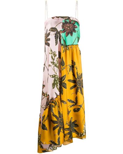 Bandeau-Kleid mit Einsätzen