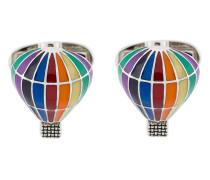 Knopfmanschetten in Heißluftballon-Form