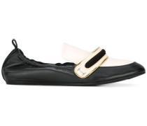 Zweifarbige Loafer - women