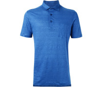 Klassisches Leinen-Poloshirt