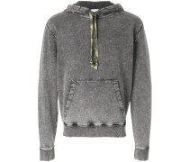 stonewashed drawstring hoodie