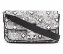 Visetos jacquard crossbody bag