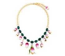 Halskette mit Tulpenanhängern