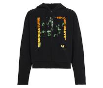 Temperature Print Hooded Sweatshirt