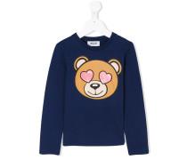 T-Shirt mit Teddybär-Print