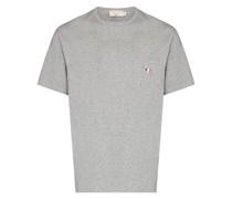 T-Shirt mit Fuchsdetail