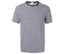 Gestreiftes T-Shirt - men - Baumwolle - XL