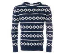 diamond intarsia jumper