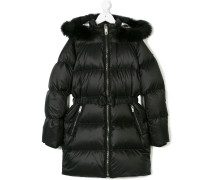 detachable hood padded coat