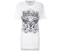 tiger logo print T-shirt