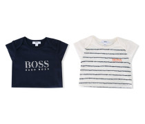 Body mit Logo-Print - kids - Baumwolle/Elastan