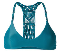 woven racerback bikini top - women