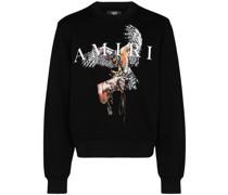 "Sweatshirt mit ""Falcon""-Print"