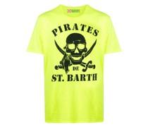 T-Shirt mit Piraten-Print