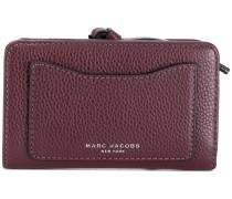 logo embossed wallet
