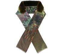 Schal mit Pelzbesatz - women - Seide/Orilag Fur