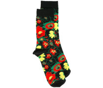 Foolish Flowers socks