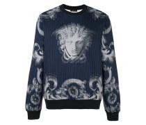 'Lenticular Foulard' Sweatshirt