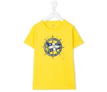 - T-Shirt mit Marine-Print - kids - Baumwolle - 6