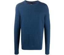 Pullover mit Korbgeflecht-Strickmuster