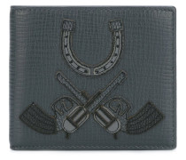 Portemonnaie mit Western-Patches