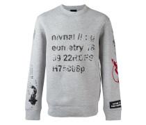 semantics print sweatshirt