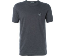 T-Shirt mit Affen-Patch