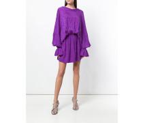 jacquard draped dress