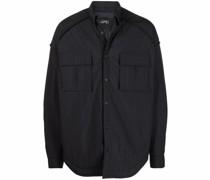 buttoned-up shirt jacket