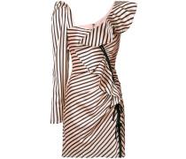 Kleid mit Rüschenborte