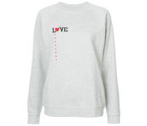 """Sweatshirt mit """"Love""""-Stickerei"""