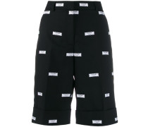 Shorts mit Patches
