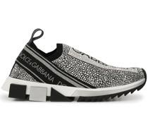 'Sorrento' Sneakers mit Kristallen