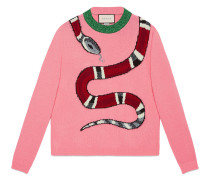 Kingsnake wool knit sweater