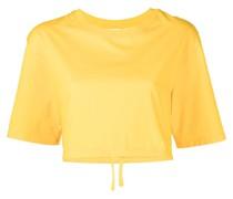 Jersey-T-Shirt in Cropped-Optik