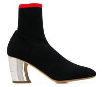 Sock-Boots mit Design-Absatz