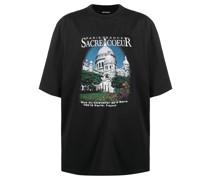 "T-Shirt mit ""Sacre Coeur""-Print"