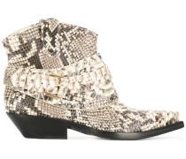 Cowboy-Boots mit Schlangenmuster