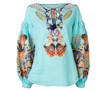 Harvest embroidered top