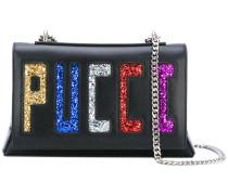 - 'Pucci' Schultertasche mit Glitzer - women