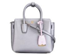 Handtasche im Metallic-Look - women - Leder