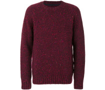Pullover mit gesprenkeltem Muster